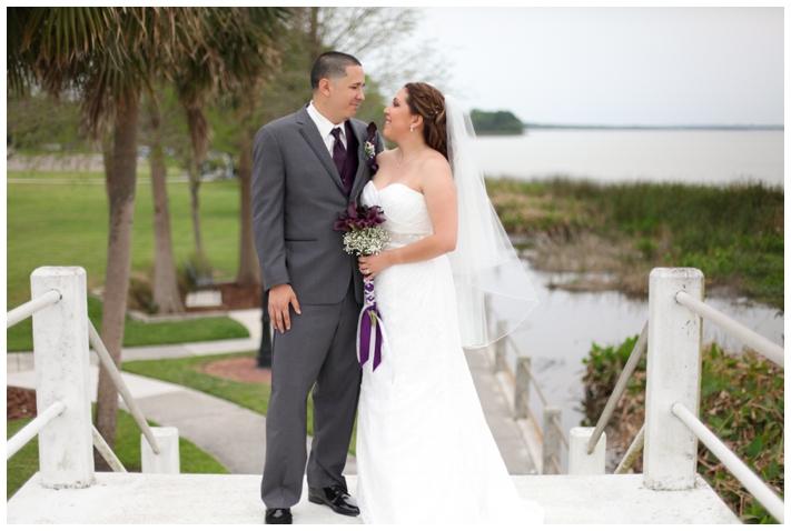 Christina And Ruben Winter Garden Wedding Michelle