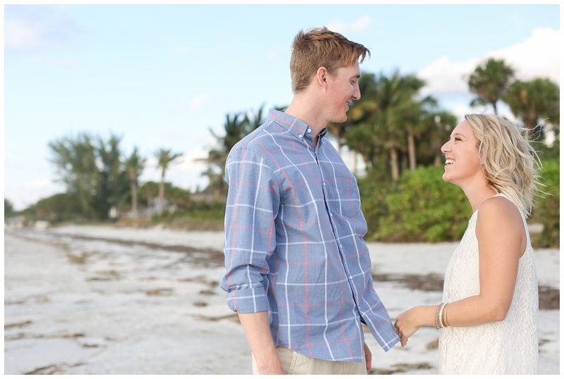 Clearwater Beach Tampa Engagement