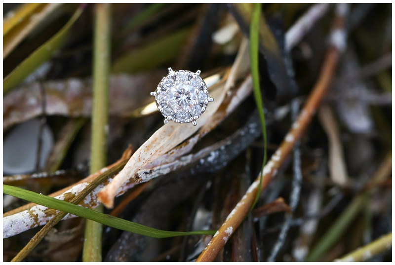 Engagement Ring in Seaweed