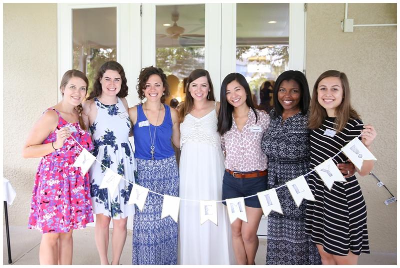 bridesmaids bride banner