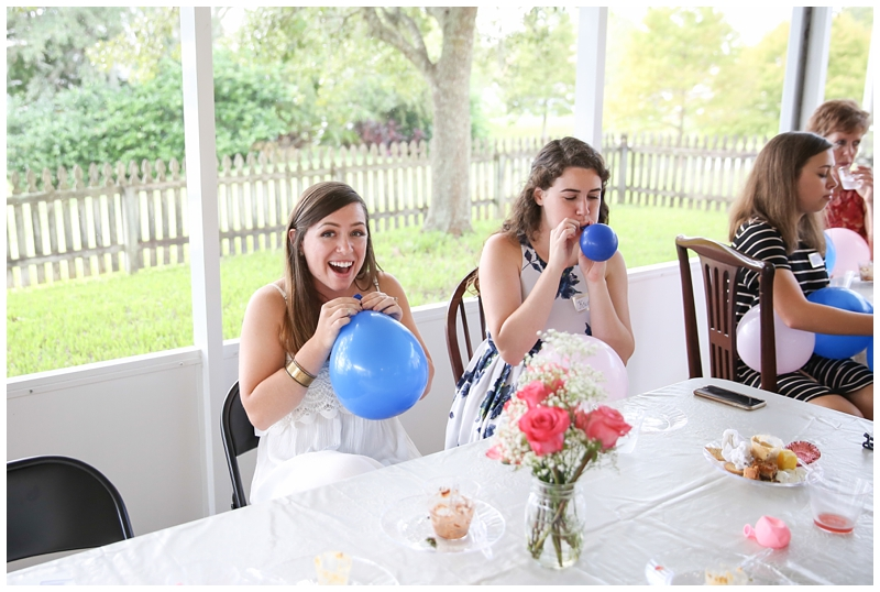 bridal shower balloon game