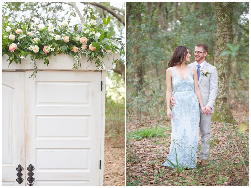 serenity blue wedding dress