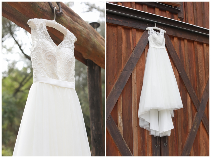 david's bridal barn dress