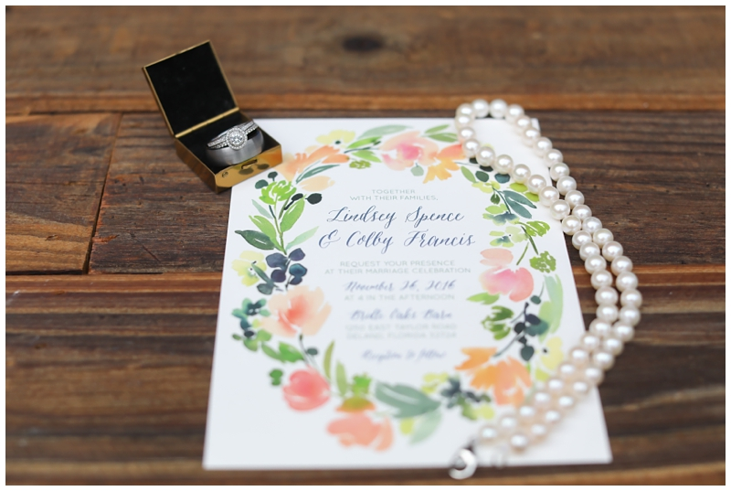 minted wedding invite floral