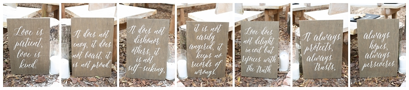 Love is Patient Bible Verse Wedding