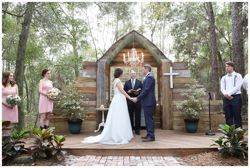 Bridle Oaks Barn Ceremony