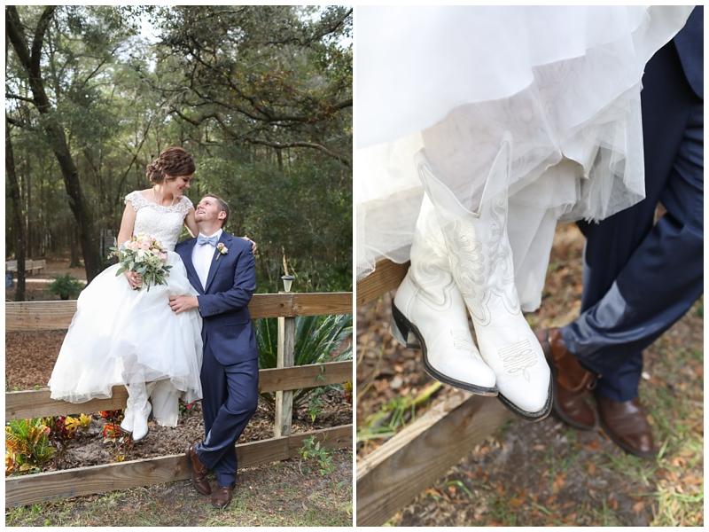 white bridal cowboy boots