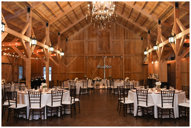 Bridle Oaks Barn Reception
