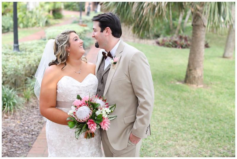 Florida tropical wedding
