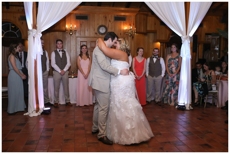 The Estate on the Halifax First Dance