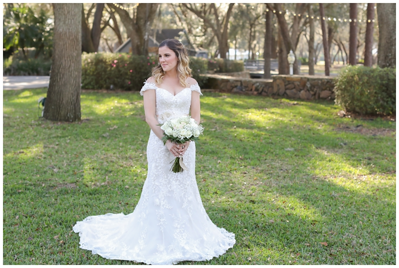 Cici's Lace Bridal Gown