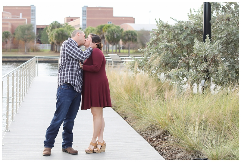 Tampa Riverwalk Engagement