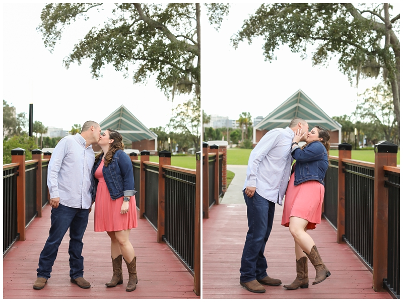 Engagement session boardwalk