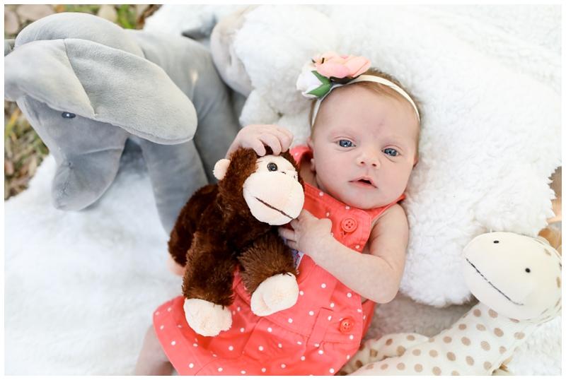 newborn girl stuffed animals