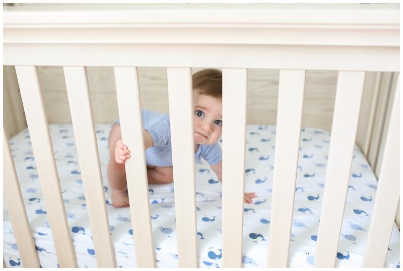 10 month crib baby