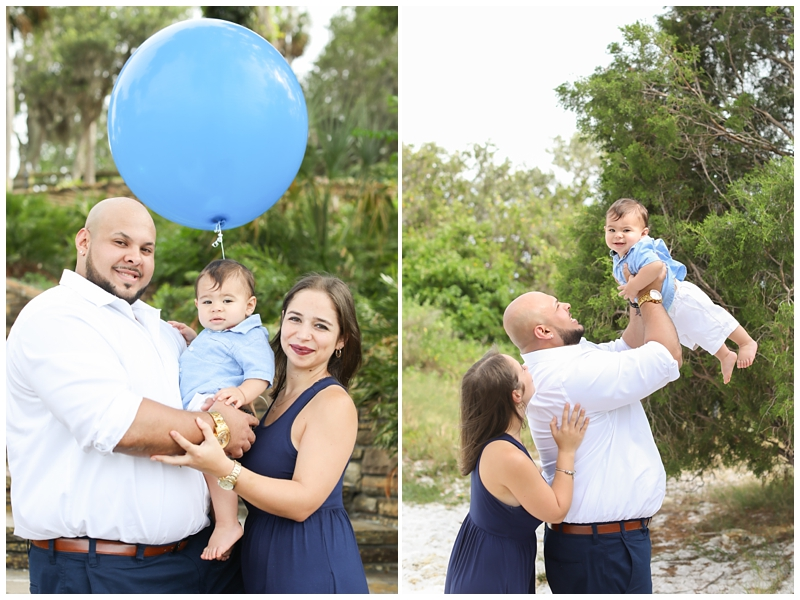 Tampa family first birthday