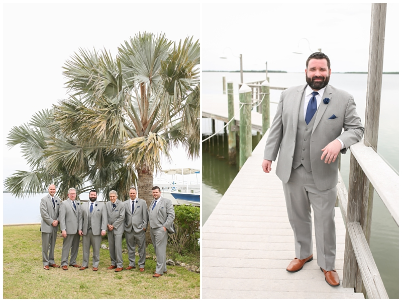 Groom Tampa Bay Watch Wedding