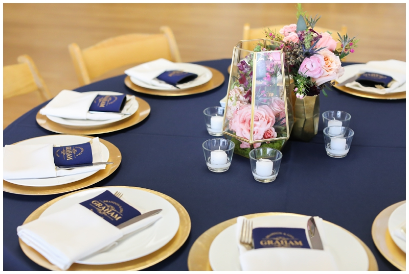 Navy Blue Gold Wedding Colors
