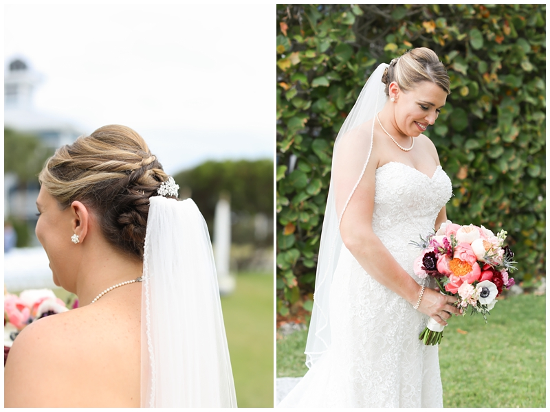 Bridal updo, 2Birds Events Flowers