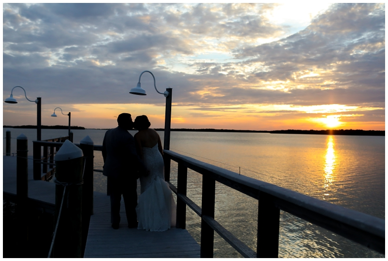 Tampa Bay Watch Sunset Wedding