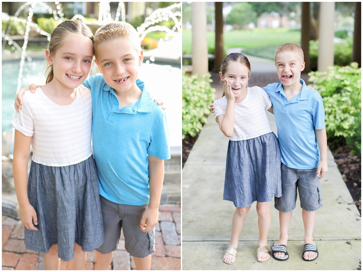 Brother sister mini session