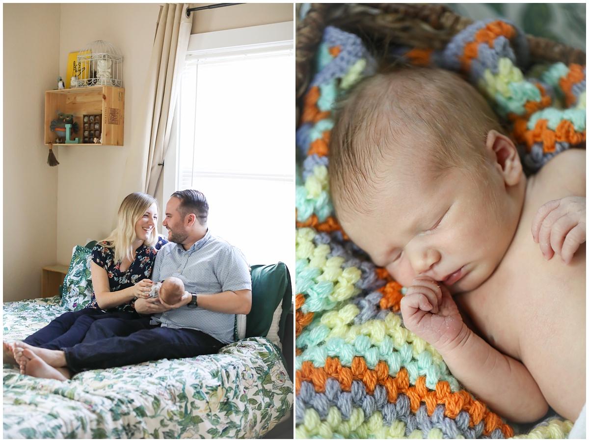 Westchase newborn family photos