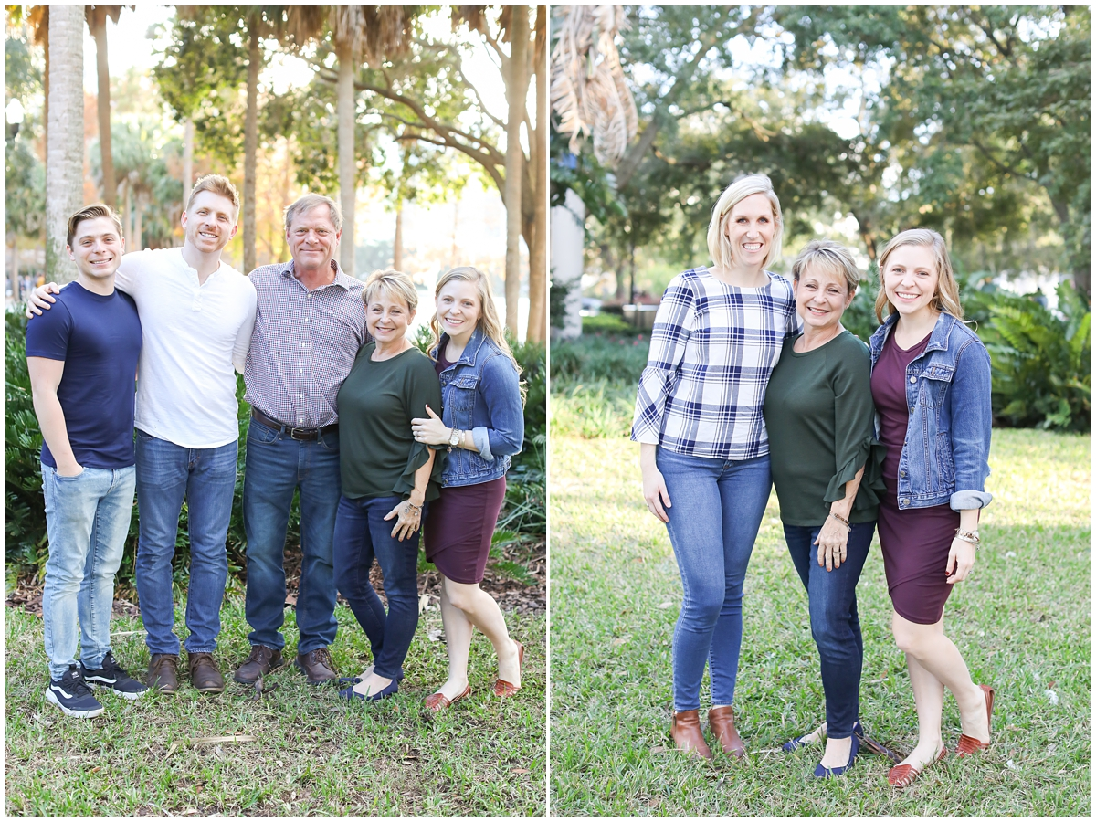 Lake Eola Family Photography