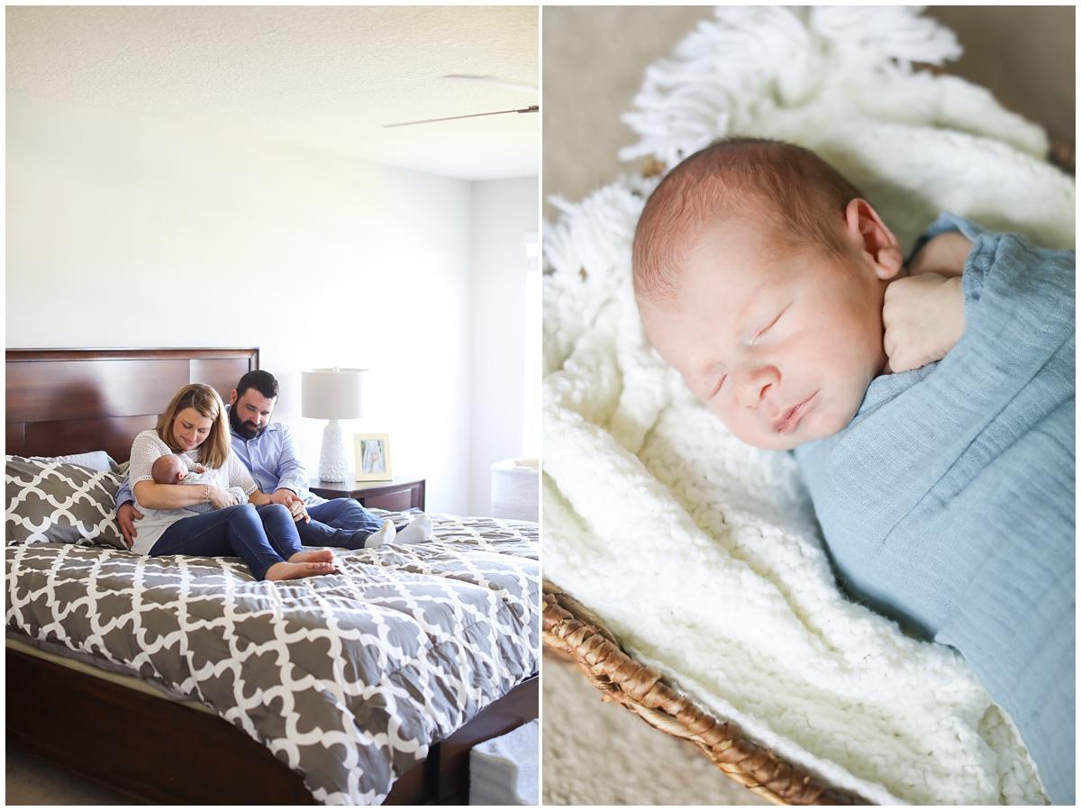 Lifestyle Newborn Photographer Tampa