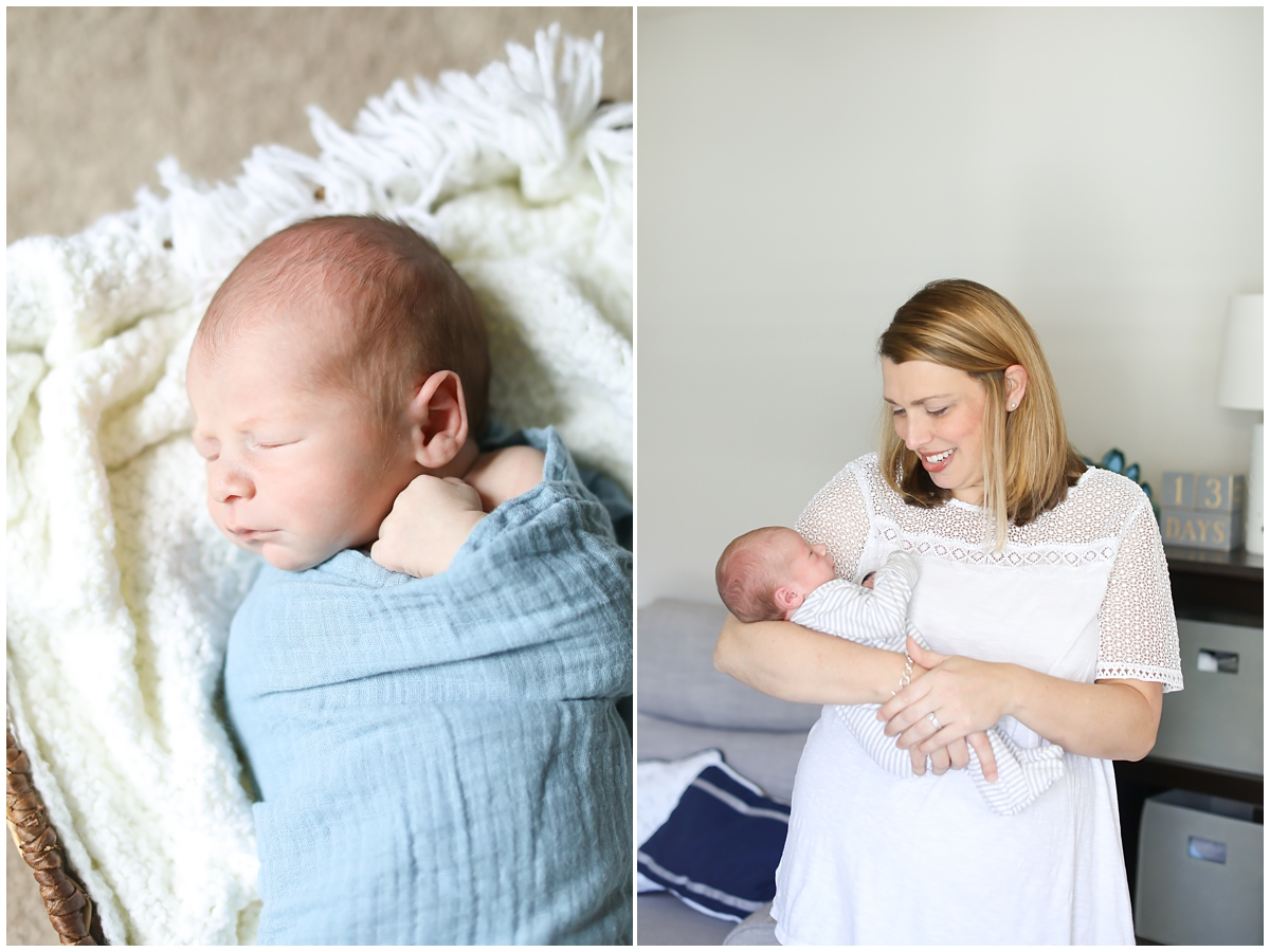 Lifestyle Newborn Photographer Westchase