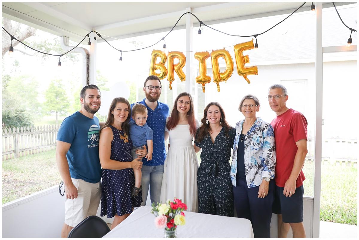 Stoker family bridal shower
