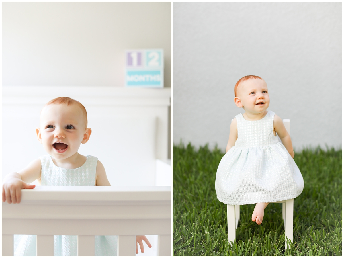 South Tampa first birthday photographer