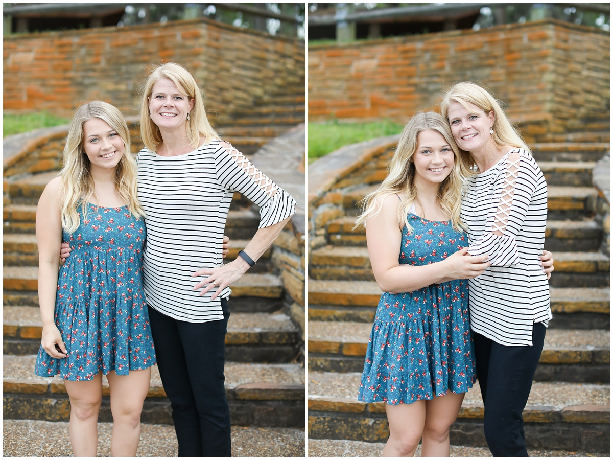 High school Senior and mom photo