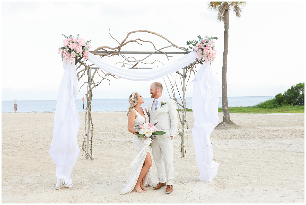 SeaScapes MacDill AFB Beach Wedding
