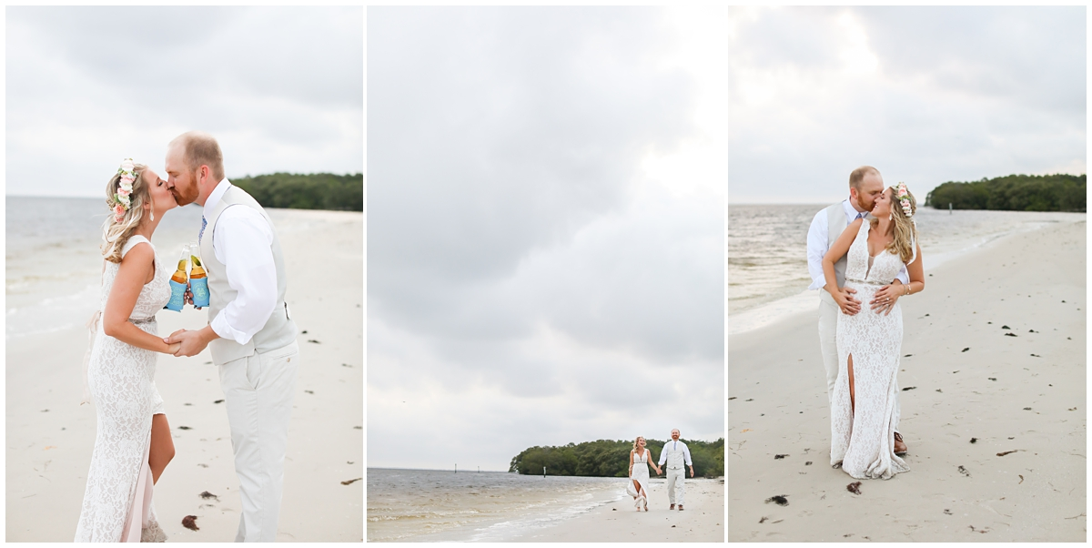 Tampa Beach Summer Wedding Portraits