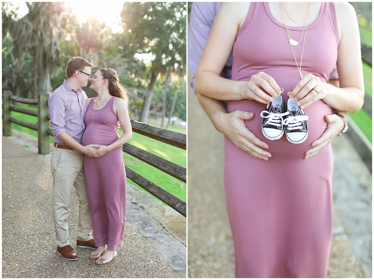 Philippe Park Maternity Photos