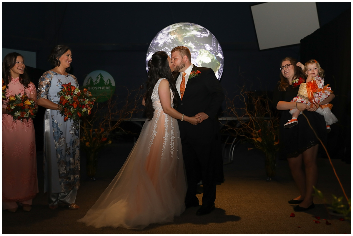 Orlando Science Center Our Planet Wedding