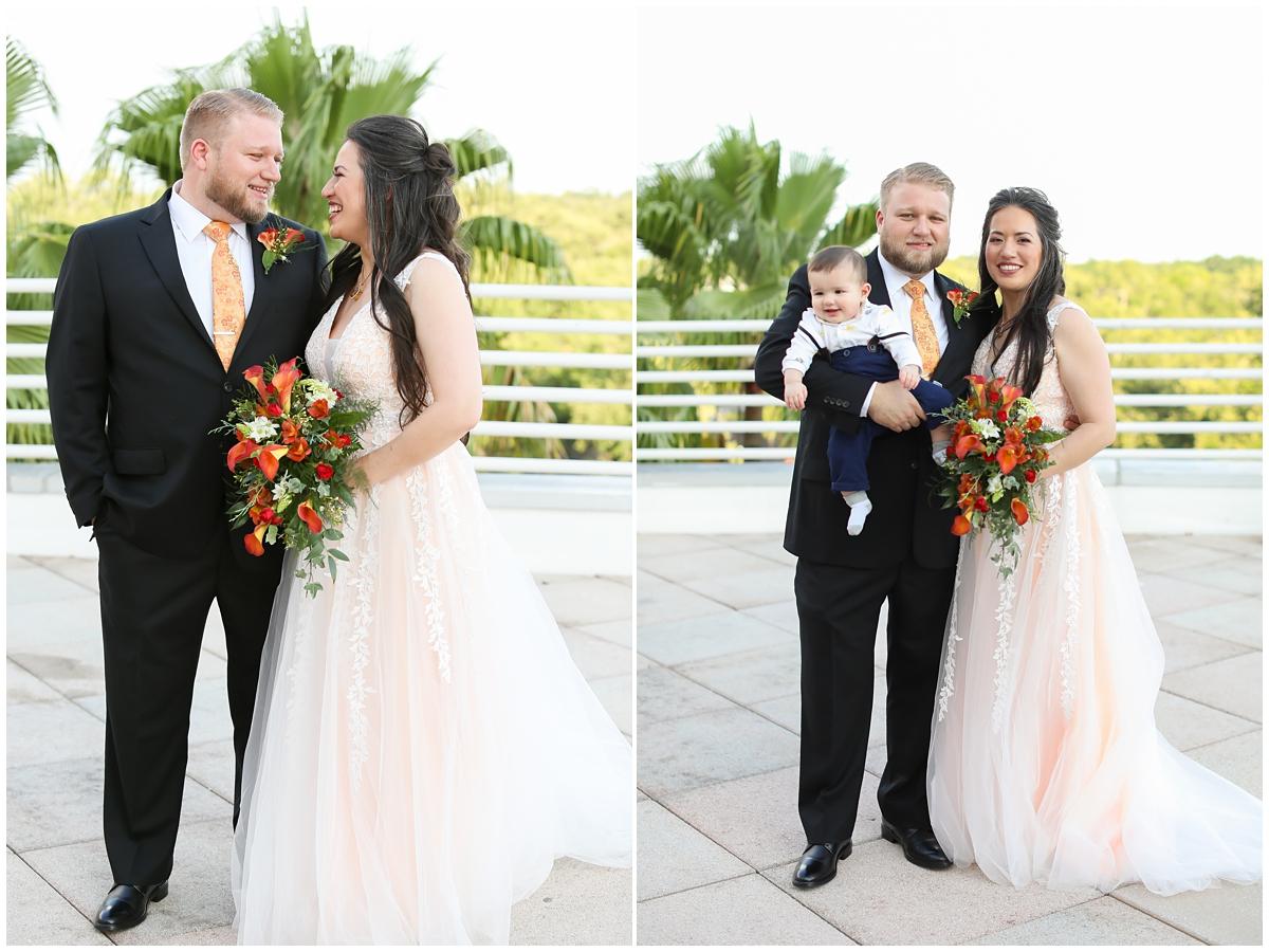 Orlando Science Center Wedding Portraits