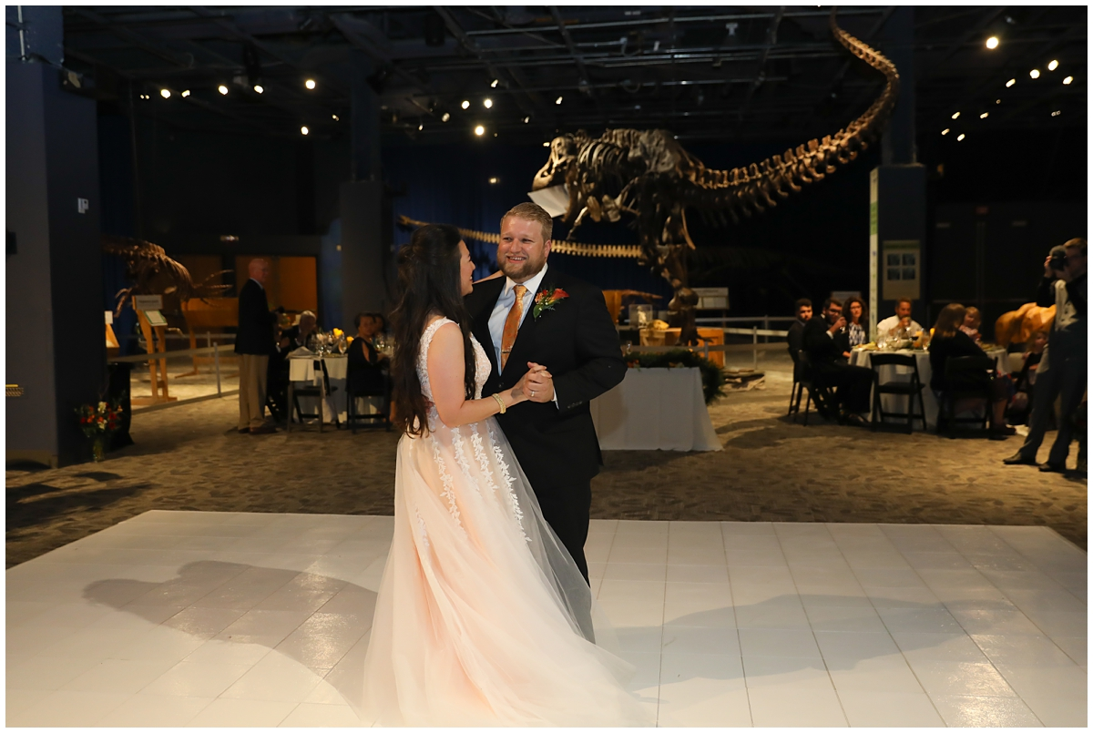 Orlando Science Center Dinosaur Digs Reception
