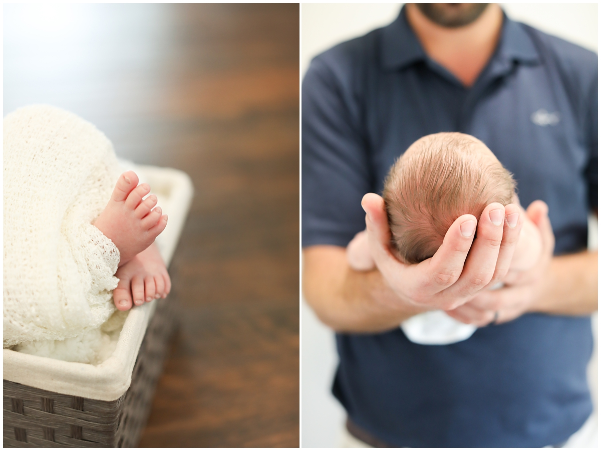 Newborn session baby details