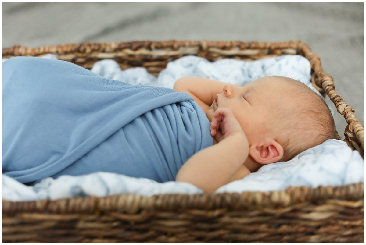 Tampa Newborn Photo Shoot