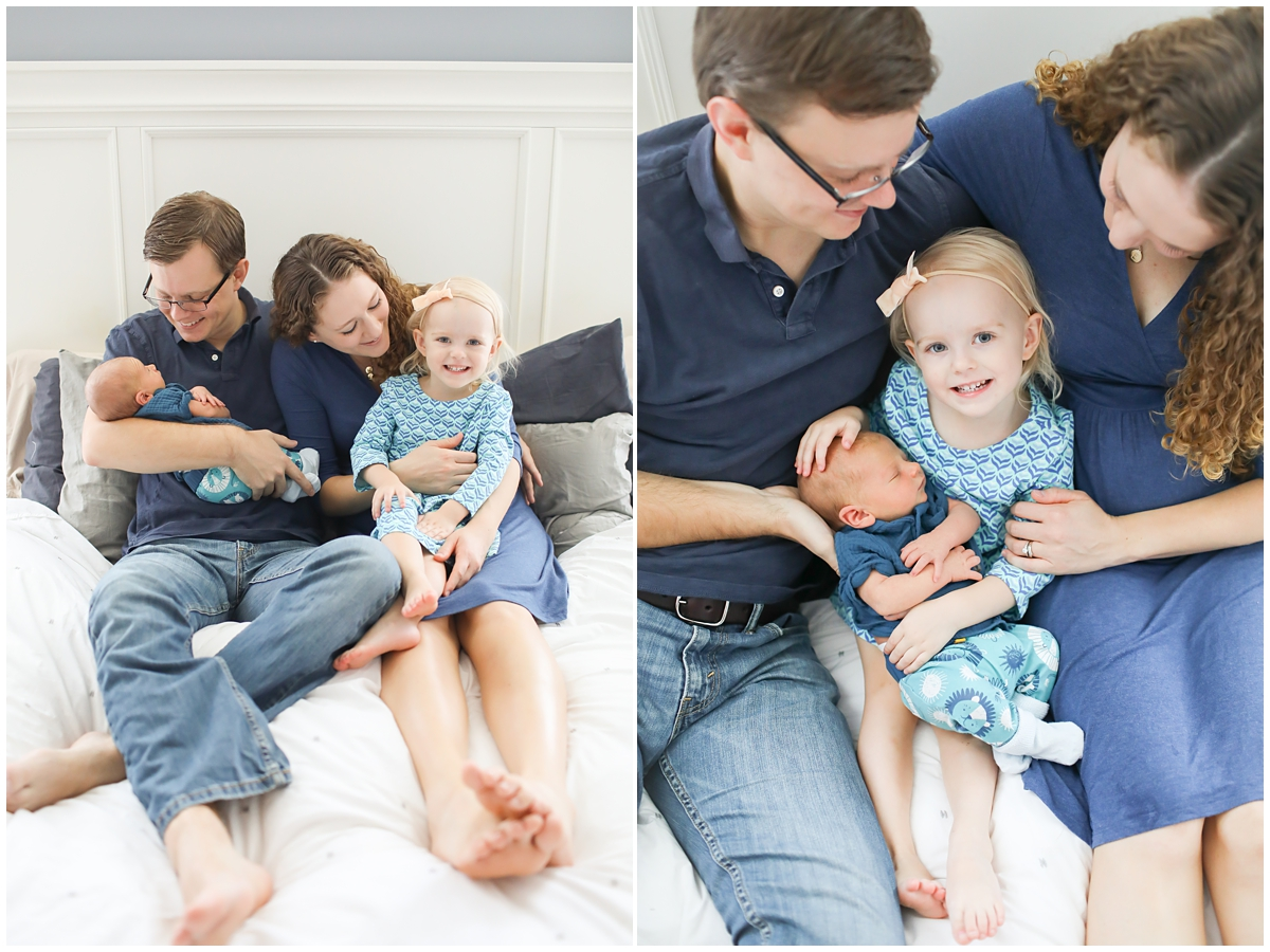 Westchase newborn family photographer