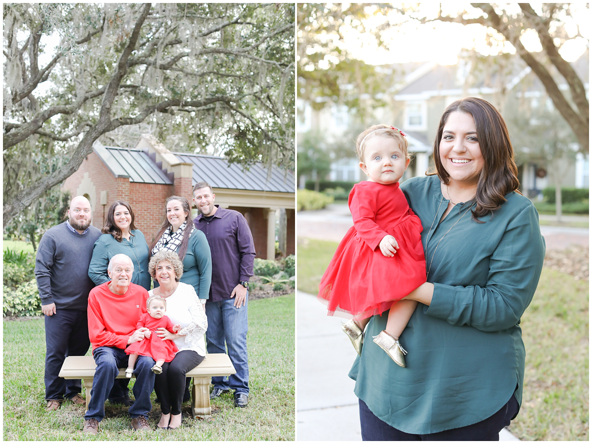 Westchase Fall family mini session photographer