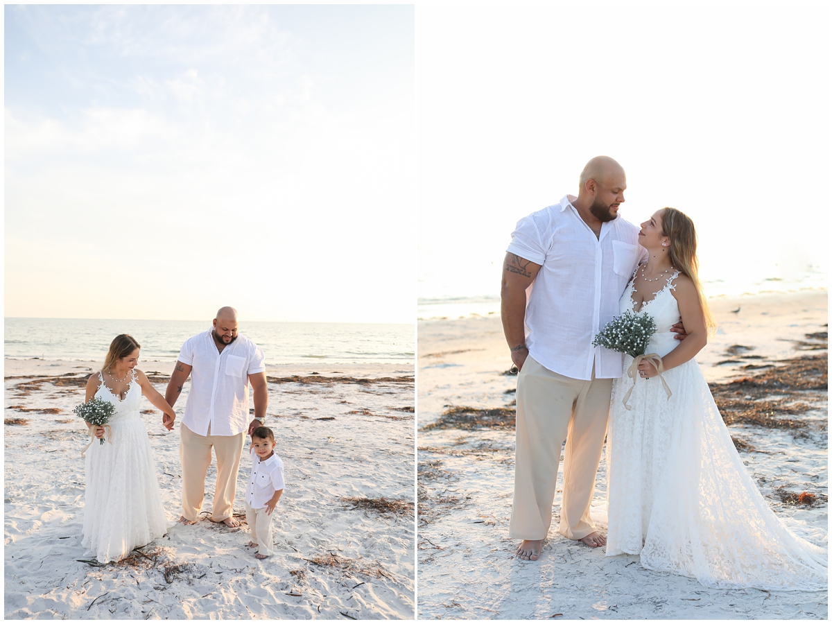 Honeymoon Island Beach Elopement