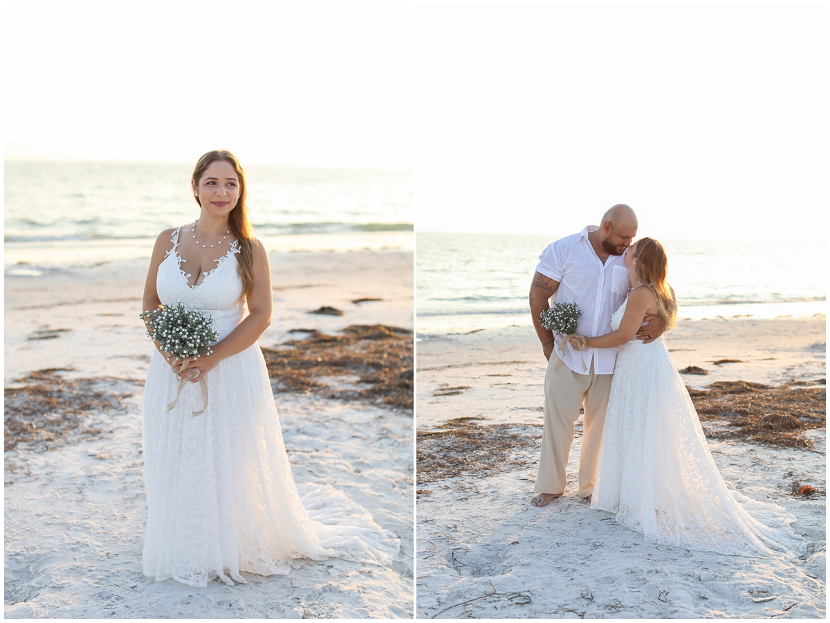 Bridal Portraits Honeymoon Island