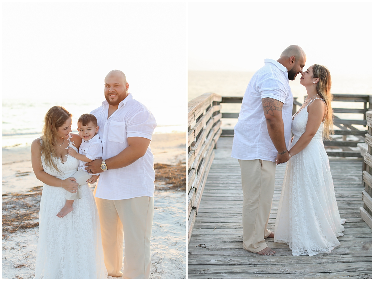 Michelle Stoker Photography Beach Wedding