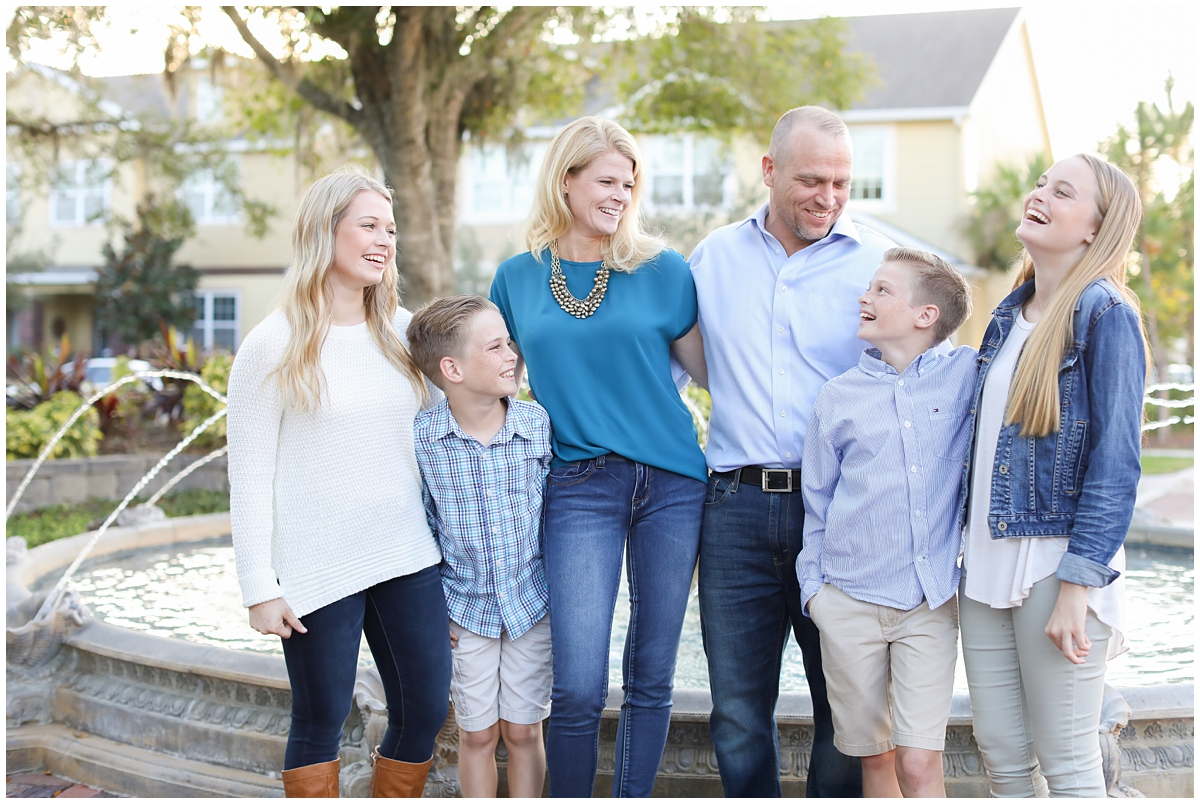 Westchase family mini sessions