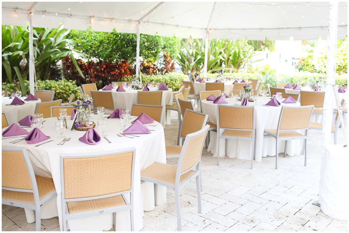 Palmetto Riverside bed and breakfast wedding reception