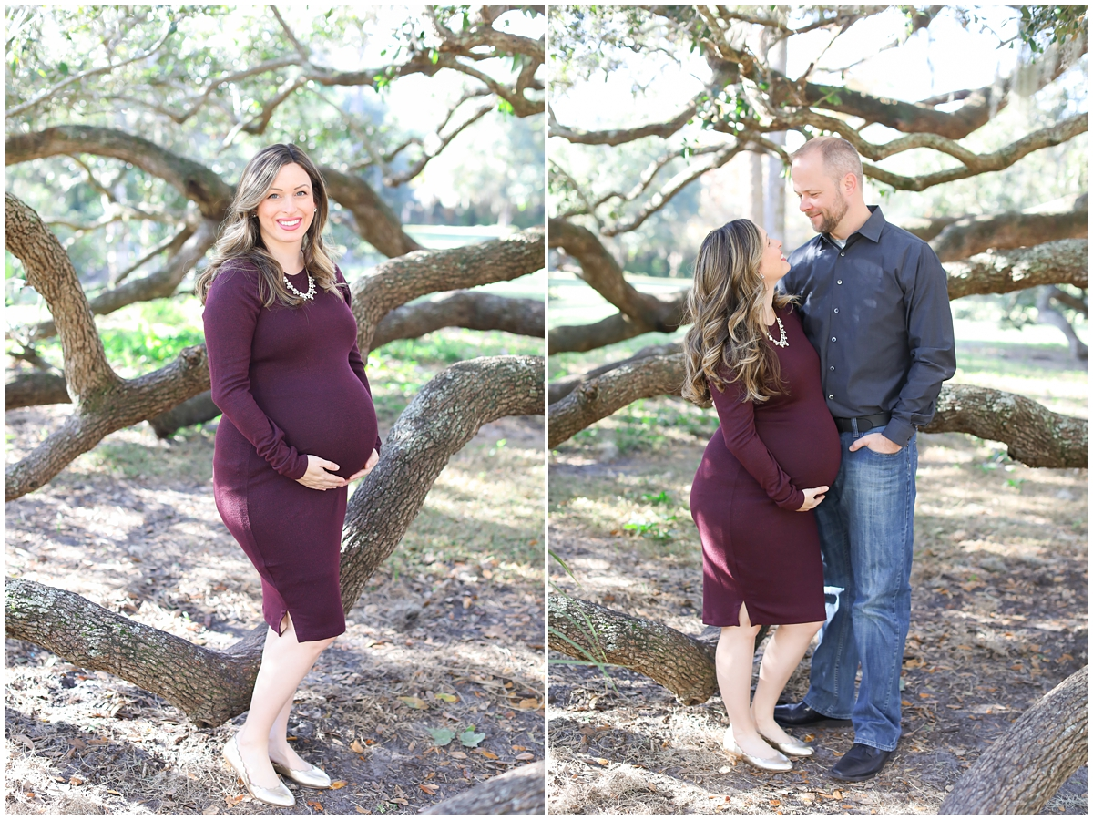 Maternity newborn photos Tampa