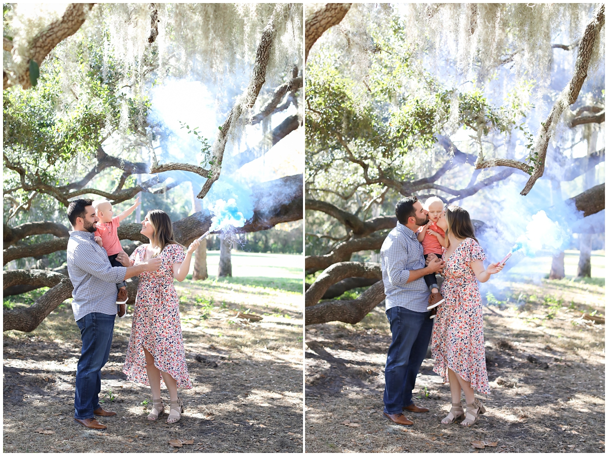 Philippe Park gender reveal photos