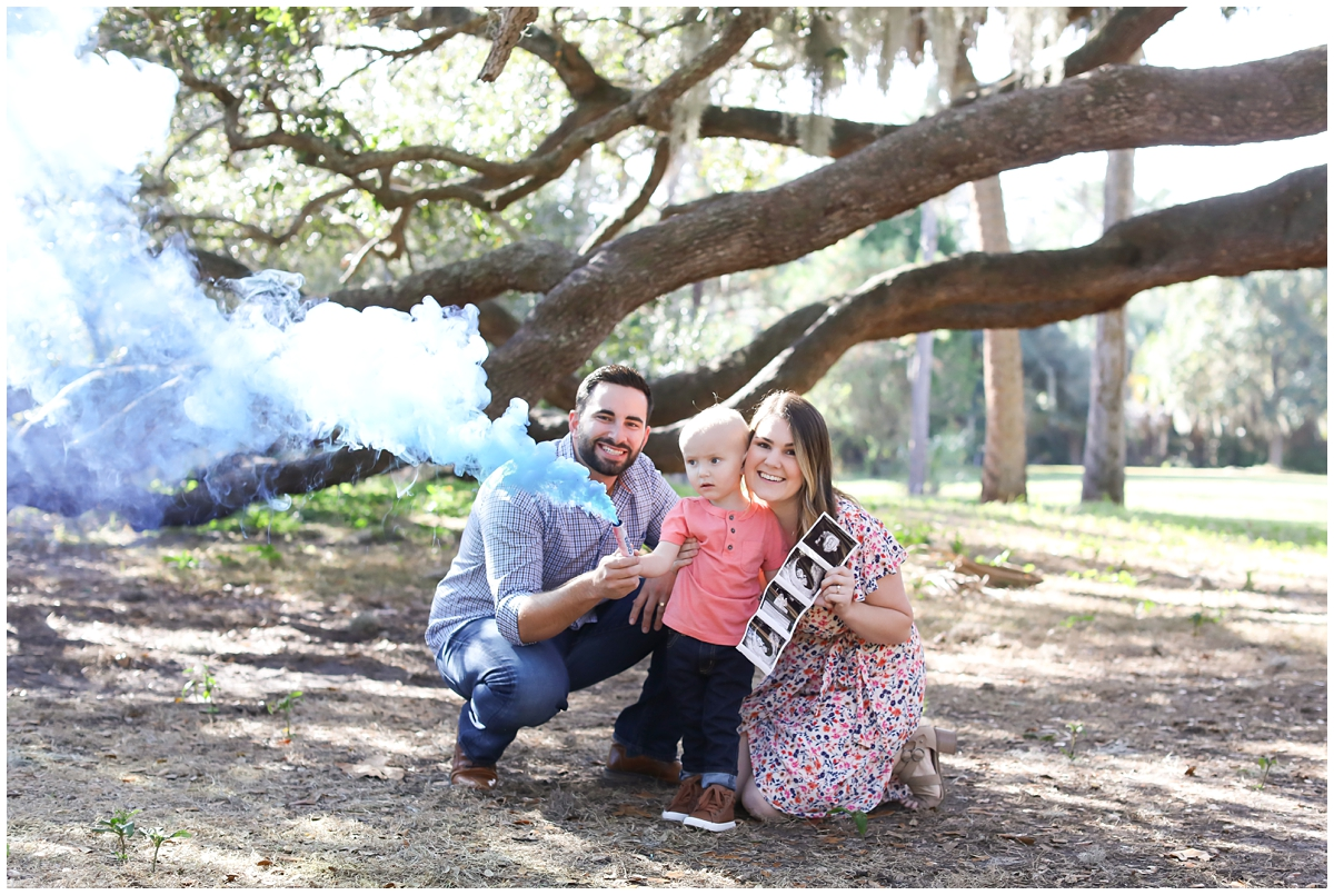 Gender reveal Tampa photographer